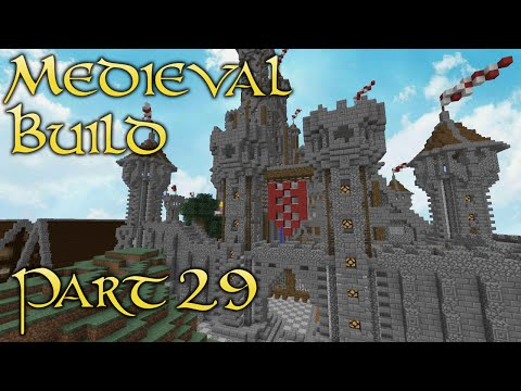 Minecraft Medieval Build - Part 29 - BIOLOGICAL CAT WARFARE