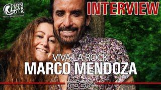 """MARCO MENDOZA - """"Viva La Rock"""" interview @Linea Rock 2018 by Barbara Caserta"""