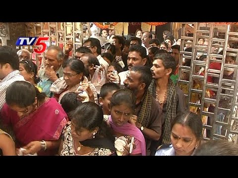 Subrahmanya Sashti Celebrations at Sharada Peetham,Vizag : TV5 News