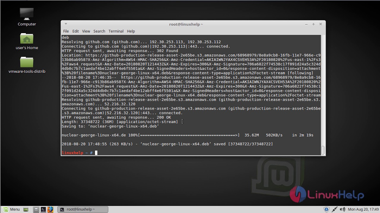 musica da youtube con linux mint