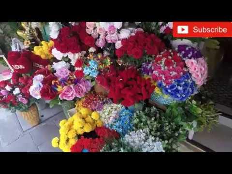 Flower Market Pak Khlong Talad Bangkok Thailand | iThai
