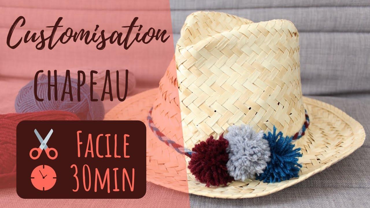véritable matériaux de haute qualité super promotions Tuto : personnalisez simplement un chapeau de paille