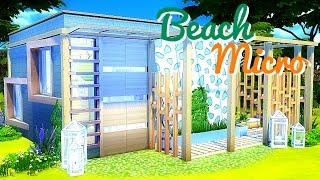 Sims 4 | House Build: Beach Micro Home