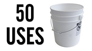 50 Amazing Uses for 5 Gallon Buckets