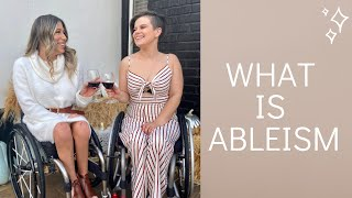 A LIFE OF A WHEELCHAIR USER: What is ABLEISM?!