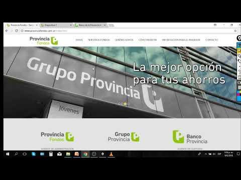 Tutorial Invertir FCI Banco Provincia