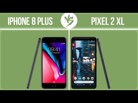 Apple IPhone 8 Plus Vs Google Pixel 2 XL ✔️