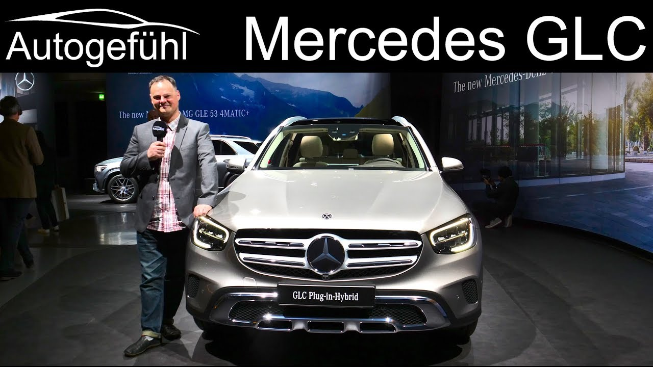 2020 Mercedes GLC Facelift REVIEW GLC 300e Plugin-Hybrid - Autogefühl