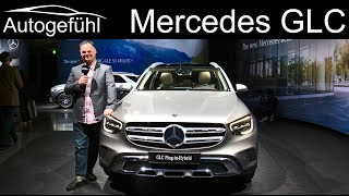 2020 Mercedes GLC Facelift REVIEW GLC 300e Plugin-Hybrid - Autogefühl