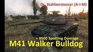 World of Tanks Gast-Replay 0220 (deutsch) Harry Spotter 21 - M41 Walker Bulldog