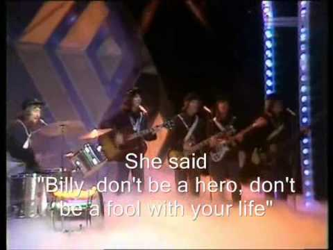 Bo Donaldson and The Heywoods - Billy Don't be a Hero ...