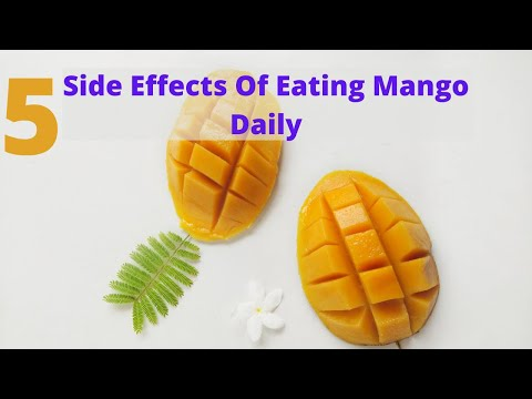Side Effects Of Eating Mango Daily
