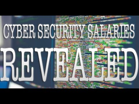 Cyber Security Salaries REVEALED!