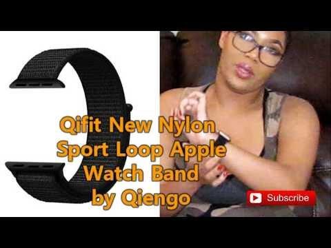 PR: QIENGO Qifit New Nylon Sport Loop Adjustable Apple Watch Band Review