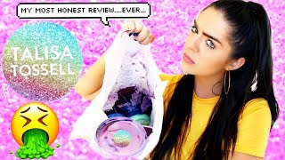 100% Honest Talisa Tossell Slime Review! (please watch)   Nichole Jacklyne