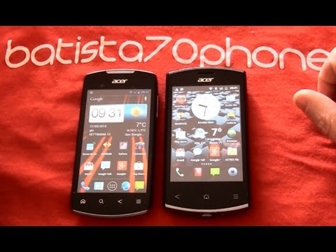 Video Recensione Acer Liquid Glow vs Liquid Express da batista70phone
