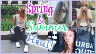 Spring/Summer Haul + Huge Fashion Giveaway! // Brandy Melville, Urban Outfitters & more!