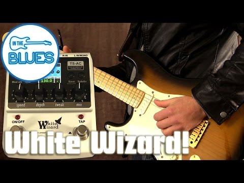 Donner White Wizard Multi Effects Modulation Pedal