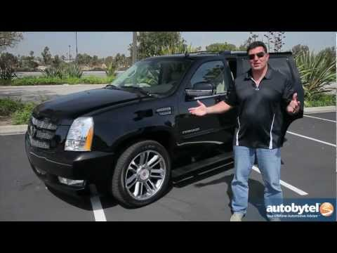 2012 Cadillac Escalade Test Drive & Luxury SUV Video Review
