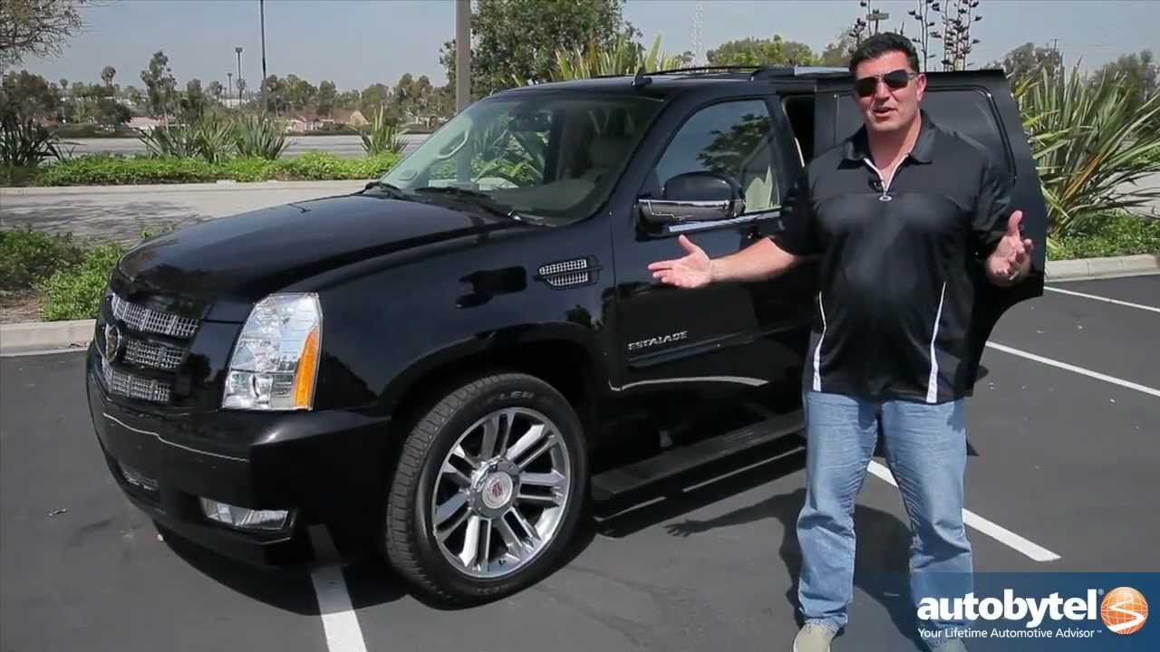 2012 Cadillac Escalade Test Drive Amp Luxury Suv Video