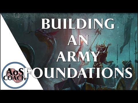 Building An Army Foundations - Warhammer Age of Sigmar
