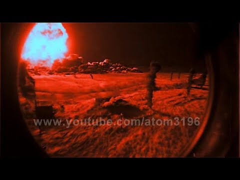 Teapot apple atomic bomb effects 1955 || HD