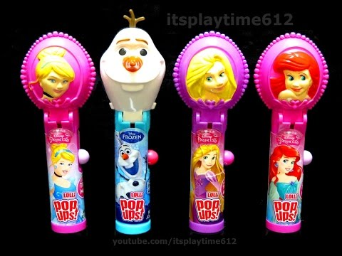 Disney Princess Chupa Chups Lolli Pop Ups from Flix Candy - itsplaytime612