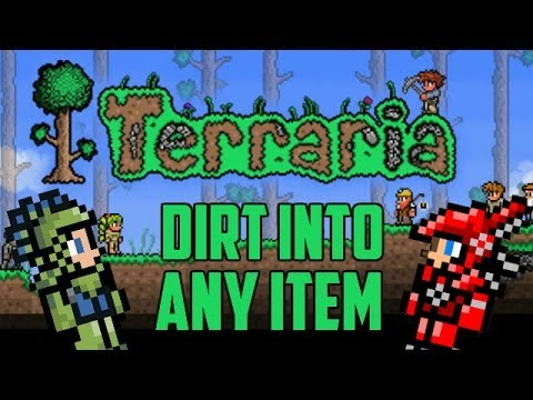 How to Spawn Any Item You Want (Piggy Bank Glitch) <b>Terraria</b> 1.2 ...