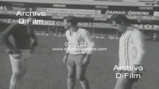 DiFilm - Entrena Estudiantes de La Plata - Copa Intercontinental 1970