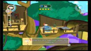 Phineas y Ferb A través de 2Dimension: El Videojuego - Gelville Mundo 1 e Intro