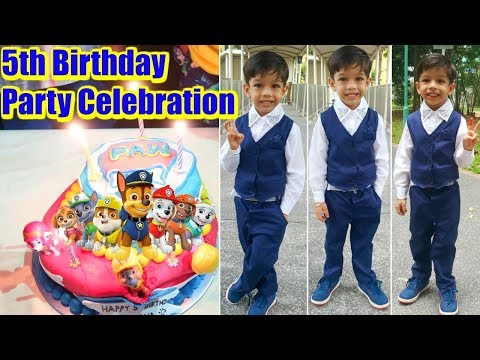 5th Birthday Party Celebration Paw Patrol Theme | Ranveer Singh
