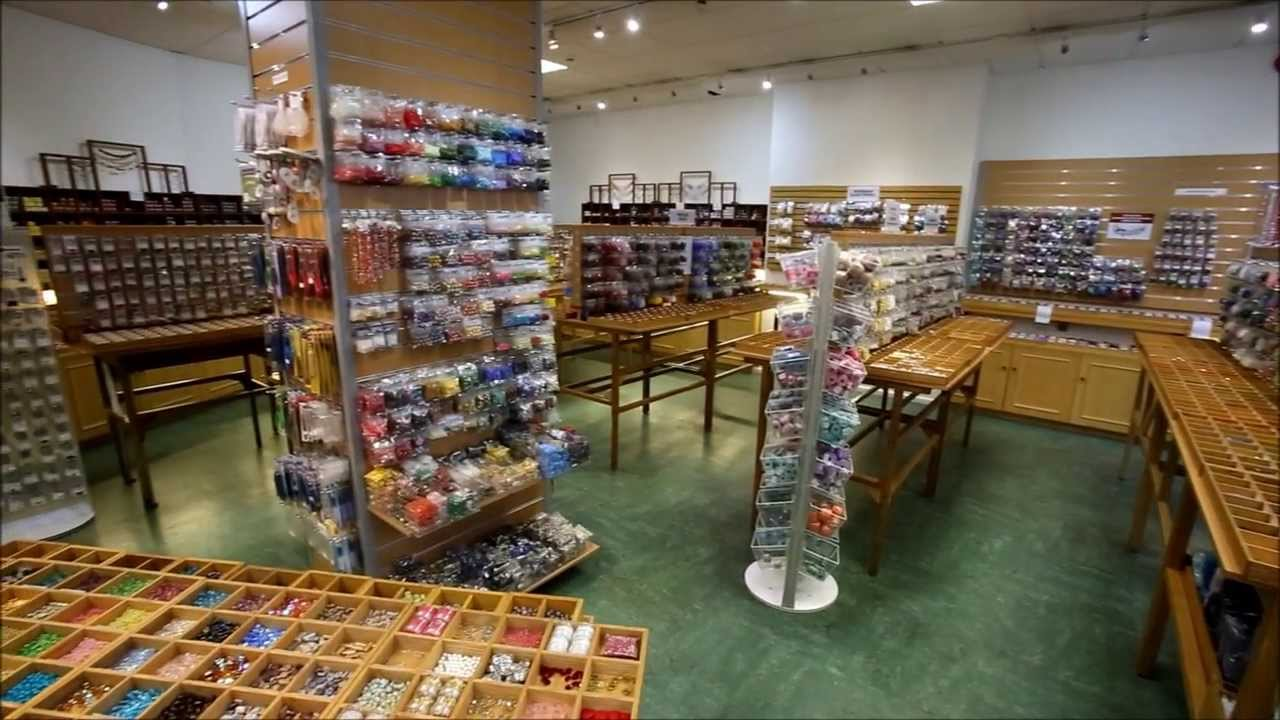 Covent Garden Bead Shop, London, Beadworks Uk Ltd. - YouTube