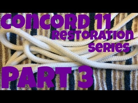 """How To Clean Laces on Air Jordan 11 High """"Concord"""" - Restoration Series - Part 3"""