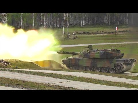 French Army Shows Their Military Strength In NATO War Games