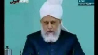 Проповедь Хазрата Мирзы Масрура Ахмада (25-12-09) часть 1