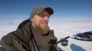 Зимняя рыбалка 2019. Рыбинское водохранилище.
