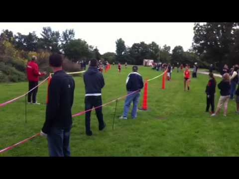Women S Cross Country Finish Line Youtube