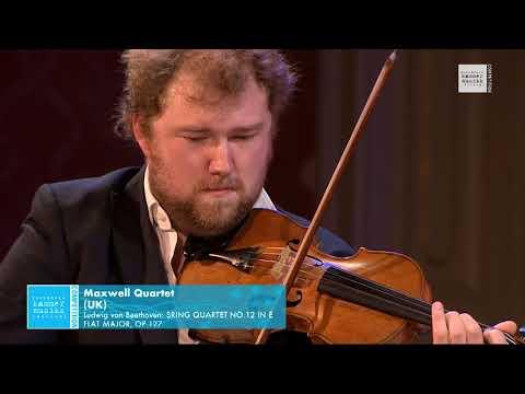 Maxwell Quartet - Ludwig van Beethoven: String Quartet No. 12 in E flat Major, Op. 127