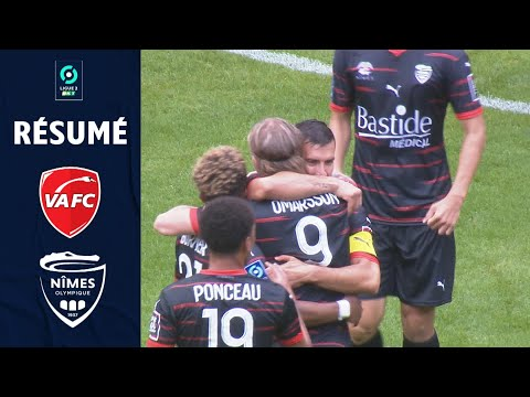 Valenciennes Nimes Goals And Highlights