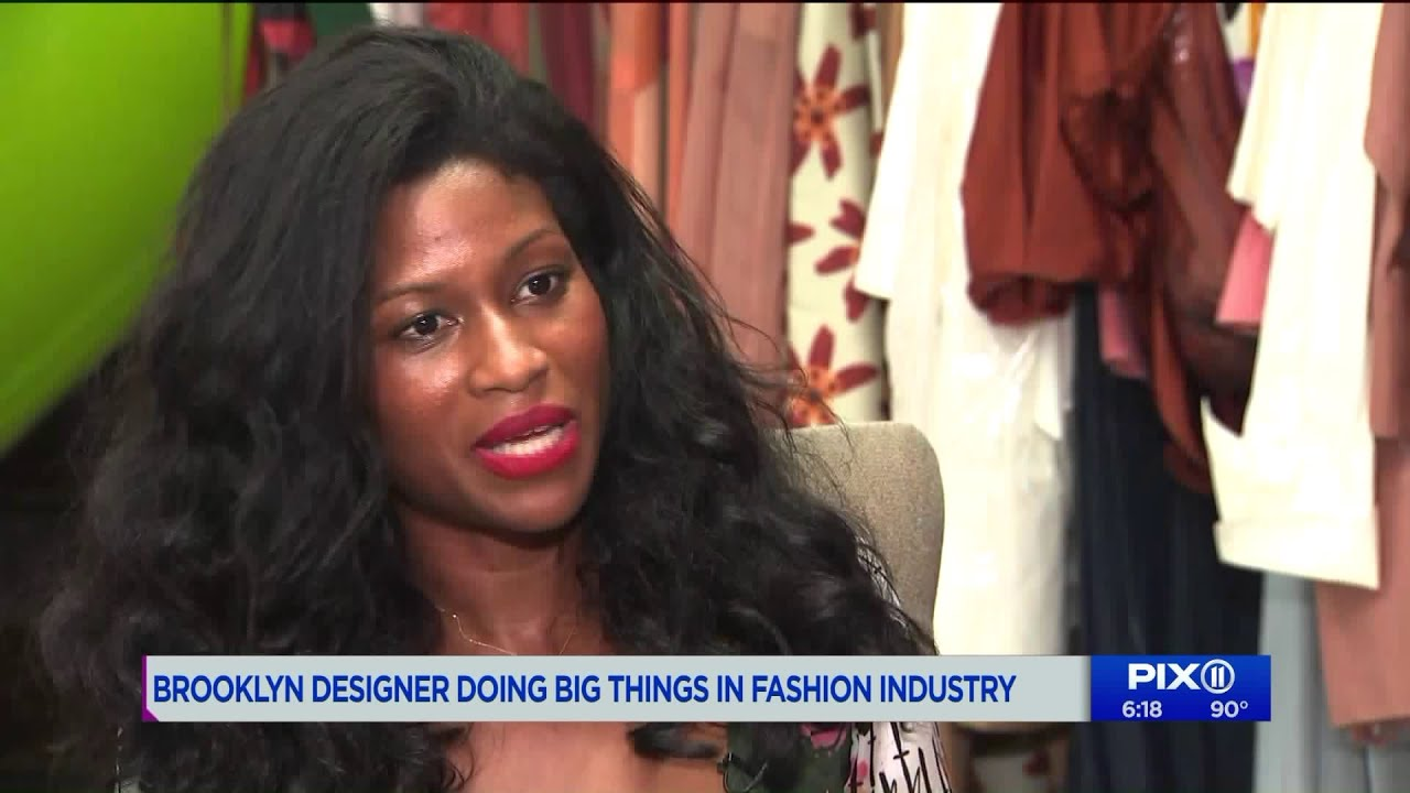 Brooklyn designer doing big things in the fashion industry