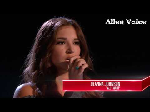 The Voice -  Top 7 Girls Amazing Voice | Blind Audition | WorldWide #part 2