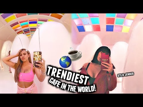 I Went To The Trendiest Instagram Cafe In The World!