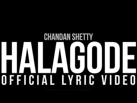 halagode kannada song video