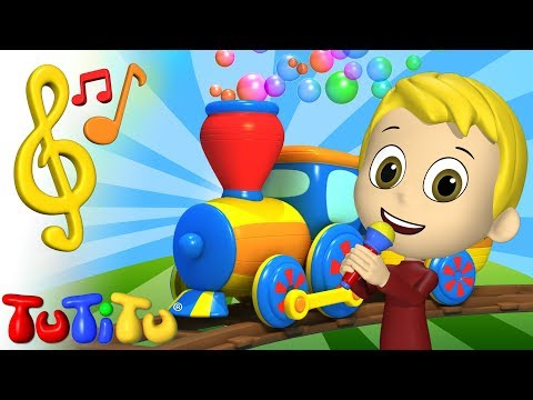 Songs & Karaoke for Children |  Train song