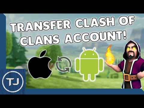 Transfer/Link Clash Of Clans Account To A New Device IOS/Android! 2017!