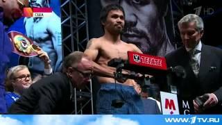 Первый канал покажет прямую трансляцию боксерского `поединка века`