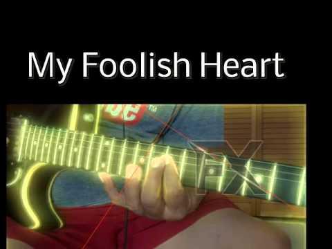 My Foolish Heart Chord Melody - YouTube