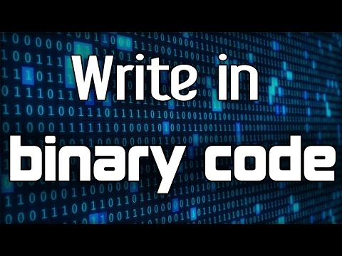 How To Write In Binary Code?! Convert Text To Binary or Conversely [TUTORIAL]