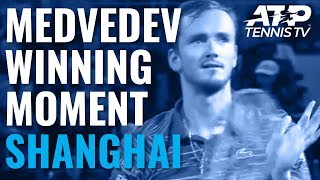 Unstoppable! The Moment Daniil Medvedev Defeated Zverev To Win The Shanghai Masters! | Shanghai 2019