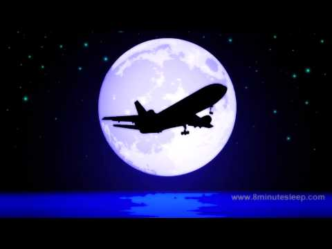 JETLINER NIGHT FLIGHT  Celestial Fans Check This Out!  White Noise For Sleep